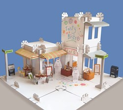 An eco-friendly construciton set for girls and boys.