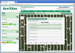 Rain Bird ClimateMinder Multi-Ranch Dashboard