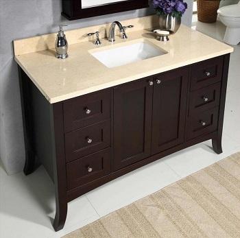 Empire Industries Empress 48 Bathroom Vanity EM48SC. HomeThangs com Has Introduced A Guide To Shaker Style Bathroom