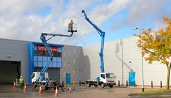 PAL+ truck mount course taking place at Smart's Midland's training academy