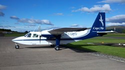 Cape Air's Britten-Norman Islander will serve Block Island
