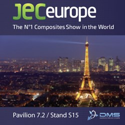 DMS CNC Routers at JEC Europe 2014 in Paris