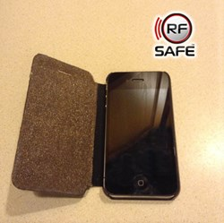 RF Safe flip case radiation shield iPhone 4,4s,5,5c, 5s