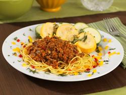 Delicious Turkey Spaghetti Italiano