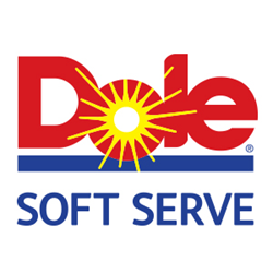 DOLE Soft Serve is manufactured by Kent Precision Foods Group of St. Louis, Mo. DOLE is a registered trademark of Dole Packaged Foods, LLC, used under license.