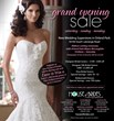 House of Brides Grand Opening Sale February 15th, 16th & 17th
