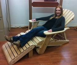 DFC Woodworks Introduces New Folding and Reclining Adirondack Chairs to Its Inventory