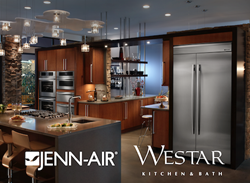 Jenn-Air Appliances are available now at Westar Kitchen & Bath
