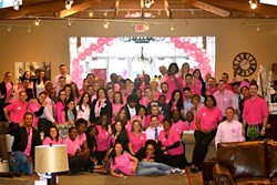 Ashley Furniture HomeStore (Jacksonville, Florida) Announces Additional  Efforts To Help Finish Breast Cancer