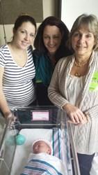 Samantha, Julie, Nella, Baby T