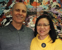 Dan Couvrette and Martha Chan