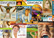 Divorce Magazine covers