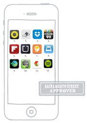 Sacramento Street selects Color911 as one of the Top 12 Apps to Download in 2014