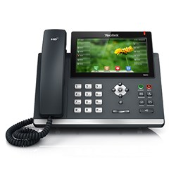 Yealink SIP-T48G VoIP Phone with 7-inch color touch screen available at VoIP Supply