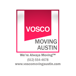 Vosco Moving Austin logo