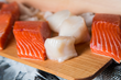 Heart-Healthy King Salmon and Fresh Scallops.