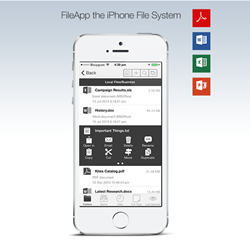 FileApp 4 - The iPhone & iPad File System