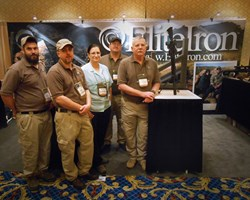 EliteIron Dale Kathy Poling weapon sound suppressor bipod SHOT Show Las Vegas NSSF elite military law enforcement hunting competitive shooting marksmen