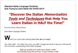 surefire italian learning package review