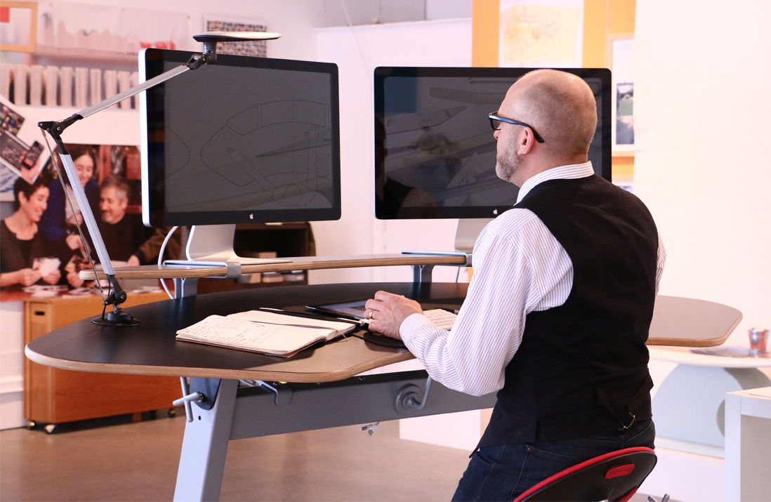 Focal Upright Introduces New Locus Sphere Standing Desk