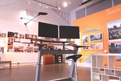 The New Locus Sphere Standing Desk