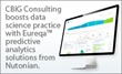 CBIG Consulting Leverages Cutting-Edge Eureqa Software to Disrupt...