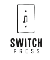 Logo of young adult imprint Switch Press.