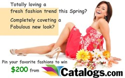 Catalogs.com Pinterest contest