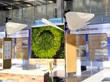 GSky, living Green Wall, living wall, vertical wall, green wall, O'Hare International Airport