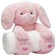 Bedtime Bunny with polka dot picture frame gift set