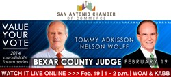 Bexar County Judge Candidate Forum