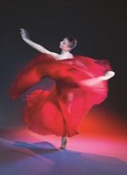 Pennsylvania Ballet Company Member Alexandra Hughes in John Butler's Carmina Burana Photo: Alexander Iziliaev