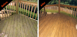 Renew Crew Wood Deck Cleaning Fayetteville AR