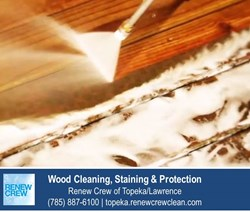 Wood Cleaning Topeka KS Renew Crew
