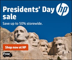 HP Presidents' Day Sale