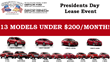 Gentilini Motors Hosts Presidents' Day Sales Event