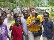 In 2010, Gracia Bennish was part of the Scientology Volunteer Ministers Haiti Disaster Response Team.