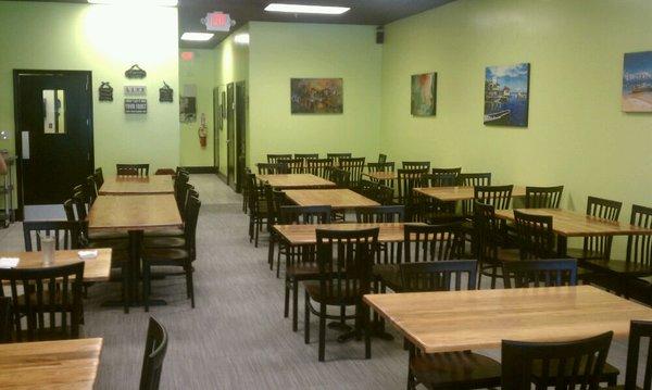 Restaurant furniture supply helps tassa caribbean open a