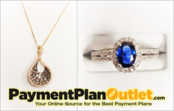 Jewelry on Easy Payment Plans from PaymentPlanOutlet.com