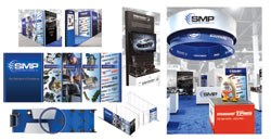 Standard Motor Products, Inc. (SMP)  tradeshow booth for the 2013 AAPEX show