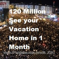 New Vacation Rental Home Portal Grabs 120 Million Vacationers