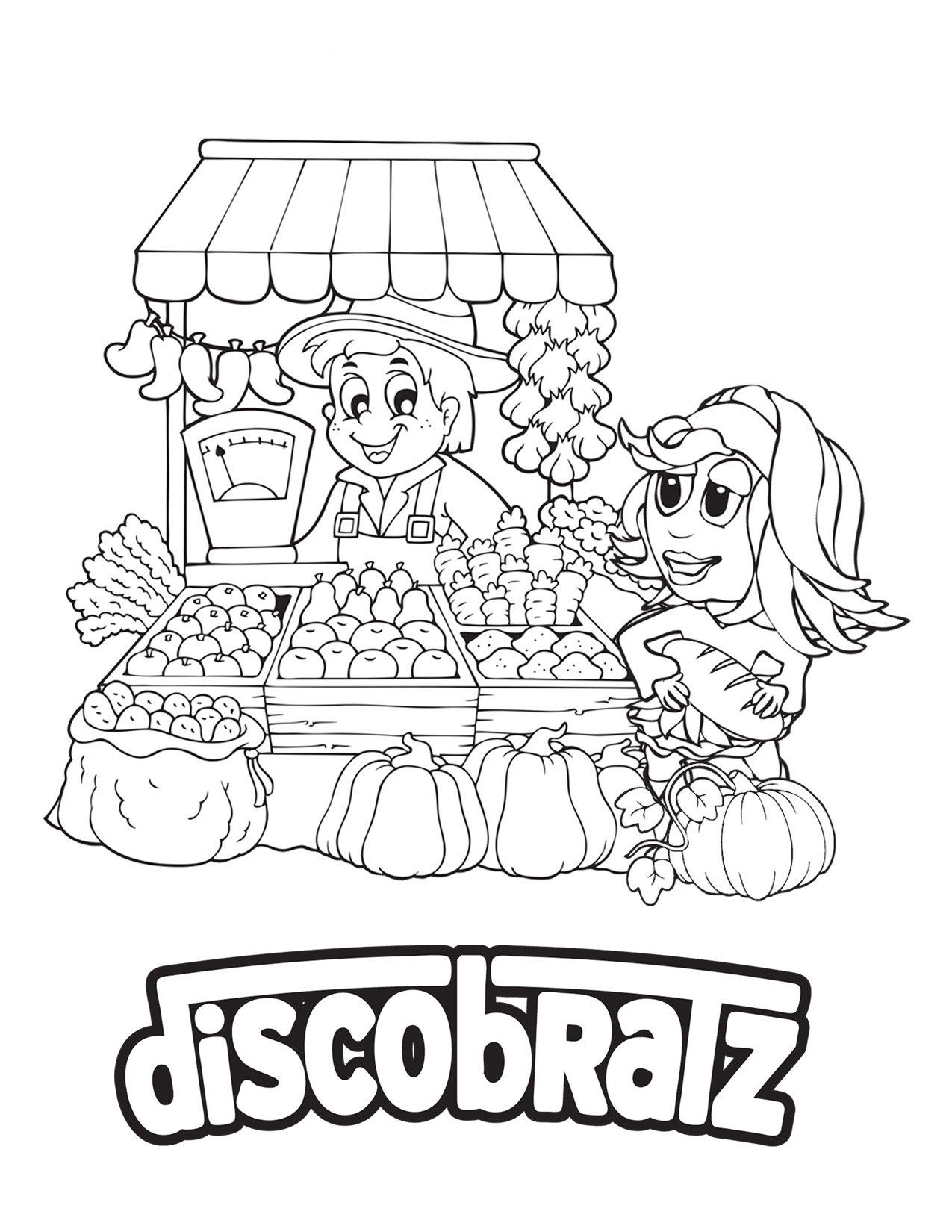 discobratz releases its national nutrition month coloring page Nutrition Coloring Pages Printable  Coloring Pages For Nutrition Month