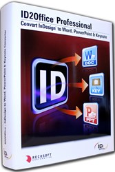 Convert InDesign to Word, InDesign to PowerPoint, InDesign to Keynote