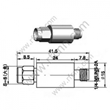 SMA male to female attenuator -attenuation 20db