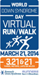 Parents Organize March 21 World Down Syndrome Day Virtual Walk/Run