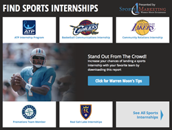 sports internships and jobs
