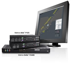 Matrox KVM extenders compatible with EIZO Raptor SQ2804 monitor