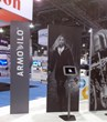 Armodilo iPad Kiosk / Tablet Display Stand / DSE 2014