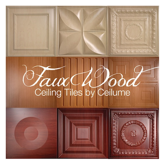 Ceilume Launches Decorative Collection Of Faux Wood