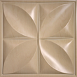 Petal style (Faux Wood) ceiling tile in Sandal Wood